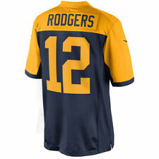 2016 MEN'S GREEN BAY PACKERS #12 AARON RODGERS ALTERNATE SEWN JERSEY