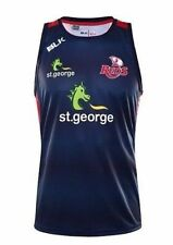 Queensland Reds Navy Training Singlet 'Select Size' S-7XL BNWT6