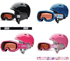 2015 SMITH OPTICS ZOOM JR/GAMBLER COMBO HELMET, YOUTH MEDIUM, MULTIPLE COLORS!