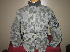 NEW CROOKS AND CASTLES QUILTED CAMO JACKET RARE MUST HAVE