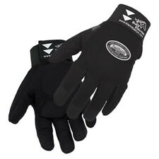 Revco ToolHandz 99PLUS-BLK Syn. Leather/Spandex Mechanic's Gloves, Small