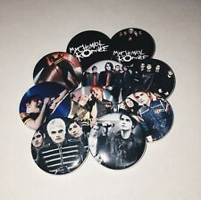 My Chemical Romance Buttons
