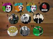 Green Day Pinback Buttons