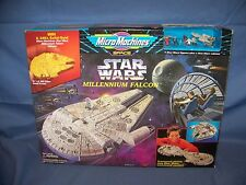 1995 Star Wars Micro Machines Millennium Falcon Play Set W/7 Figures NEW