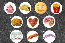 Food Pinback Buttons
