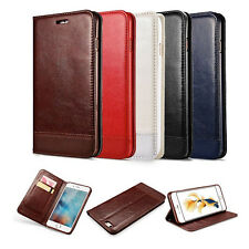 Flip Leather Wallet Case Soft Cover Magnetic Stand For Apple iPhone 6 6S 7 Plus