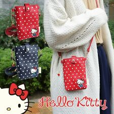 Hello Kitty Shoulder Smartphone Pouch Bag Purse Case Dot Sanrio from Japan R1896