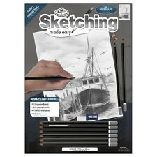 Sketching Made Easy Kit 23cm x 30cm. Shipping Included