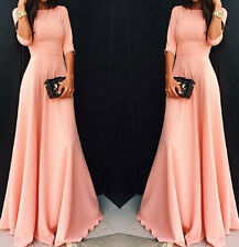 Sexy Women Long Maxi Evening Party Dress Summer Cocktail Prom Dress Plus Size
