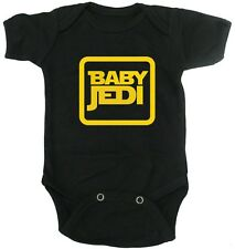 Star Wars Jedi Baby Onesie Cute Geek Boys Girls Dress Up Cotton Bodysuit Cosplay