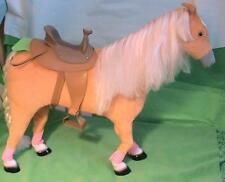 Horse and Saddle for 18 inch Dolls with Poseable legs