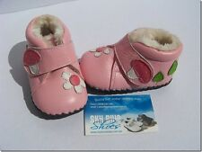 Girls Pink Leather Pre walker boots for baby's,Toddler,Kids for age 6 -18months