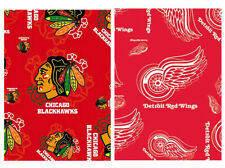 """NHL SILK STYLE TEAM SCARF YOU SELECT YOUR TEAM 2 TEAMS to Select From 34""""X 34"""""""