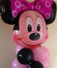 Minnie Mouse Balloon stand/table centrepiece. **BIRTHDAY'S & CELEBRATIONS**