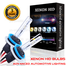 HID Headlight Replacement Bulbs Xenon Light H11 H9 43K 5K 6K White Low Beam N1