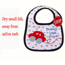 1pcs BabyTowel Saliva Durable Waterproof Kids Cartoon 3 Layer Toddler Lunch Bibs