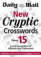 The Daily Mail New Cryptic Crosswords 15 BRAND NEW BOOK by Octopus Publishi...