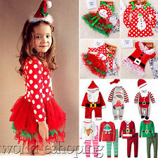 Baby Kids Boys Girls Christmas Xmas Party Cosplay Rompers / Tutu Dress / Outfits