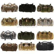 Outdoor Sea/Carp/Fly Fishing Tackle Bag Storage Waist Shoulder Carry Case Pouch