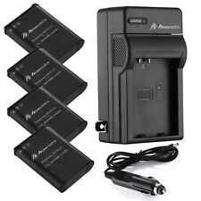 2600mAh EN-EL23 ENEL23 Battery + Charger For Nikon Coolpix B700 P900 S810c P610S