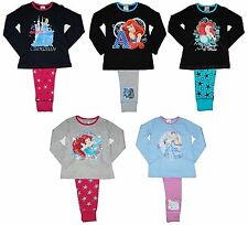 Girls Pyjamas Disney Princess Little Mermaid Ariel Cinderella Dream 4-5 to 9-10