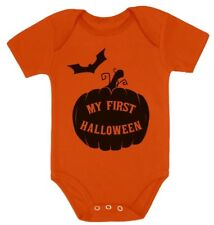My First Halloween Baby Grow Vest - Cute Bodysuit Baby Onesie Gift