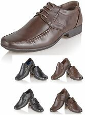 Mens Italian Formal Office Smart Wedding Shoes Casual Party Dress Boys Shoe Size