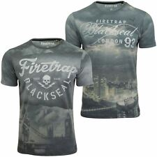 Mens T-Shirt by Firetrap 'TenMile' Short Sleeved
