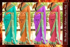 Bollywood Indian Designer Party Wear Saree Pakistani Partywear Wedding Saree
