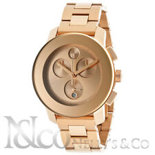 Movado Bold 3600077 Rose Gold Stainless Steel Unisex Watch
