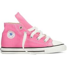 NEW INFANT TODDLER GIRLS PINK CONVERSE ALL STAR CHUCK TAYLOR HI TOPS  RRP:$60