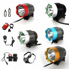 5000Lumen CREE XM-L U2 LED Head Front Bicycle Lamp Bike Light HeadLight Headlamp