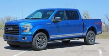 2015-2016 Lower Door ROCKER ONE Vinyl Graphics Kit Decals Stripes for Ford F-150