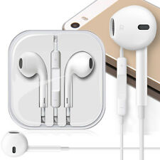 Earphone Earbud Headset Headphone w/ Volume Control For Apple iPhone 6 6S plus 5