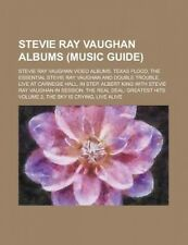 Stevie Ray Vaughan Albums: Texas Flood, the Essential Stevie Ray Vaughan and Dou