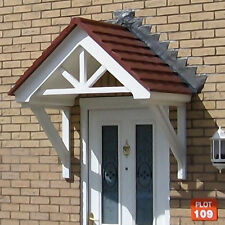 Crows Foot Gable Duo Pitch GRP Door Canopy 1450mm x 750mm