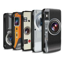 STUFF4 PU Leather Case/Cover/Wallet for Samsung Galaxy J3/Camera