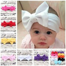 Baby Infant Girls Hair Band Princess Bow Headband Turban Knot Hair Accessories