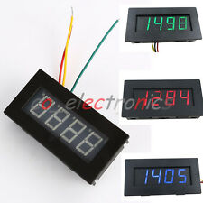 4Digital LED Tachometer 9999RPM Speed Meter PNP/NPN Hall Proximity Switch Signal