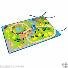 12 x Wholesale Roll-Out Play Mat Kids Bedroom Rugs Cars Carpet Toys Games Activi