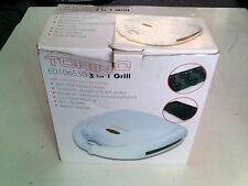 Torino 3 In 1 Grill, Boxed, Tested, In Good Condition, Trusted Ebay Shop