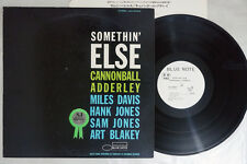 CANNONBALL ADDERLEY SOMETHIN' ELSE BLUE NOTE LNJ-80064 Japan PROMO LP