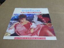 "GLORIA ESTEFAN RHYTHM IS GONNA GET YOU PIC SLEEVE ONLY NO RECORD  45 7""."