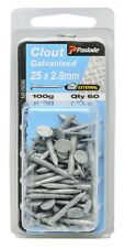 Paslode CLOUTS NAILS 100g Galvanised Plain Shank AUS Brand- 25x2.8mm Or 30x2.8mm