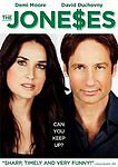 THE JONE$ES DVD 2009 Starring:David Duchovny & Demi Moore