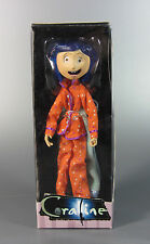 "Coraline Bendable Action Figure 7"" Doll Pajamas Bendy NECA 2008 Neil Gaiman"