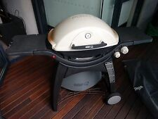 Weber Q320 Family Q LPG with cover + two gas bottles + BBQ accessories