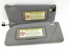 2005 Lexus Is300 Sun Visor Set Pair OEM Gray Homelink Sunvisors