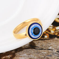 Cosplay Mens Stainless Steel Eyeball Ring Size 6/7/8/9/10/11 Free Shipping