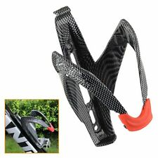 Carbon Fiber Road MTB Bike Bicycle Cycling Water Bottle Holder Rack Cage 2 Color